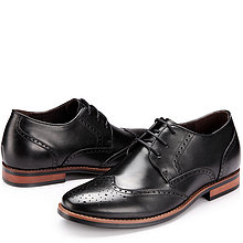 black / brown Men Height Inceasing Dress Shoes look tall 6cm / 2.36inch