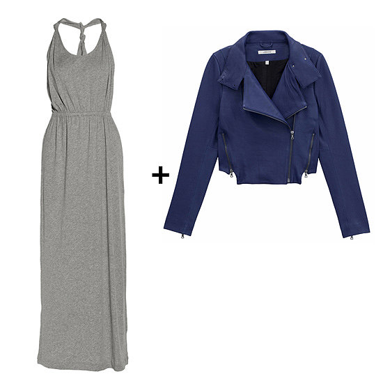 How to Wear a Maxi Dress in the Fall