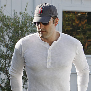 Ben Affleck in a Tight White Shirt
