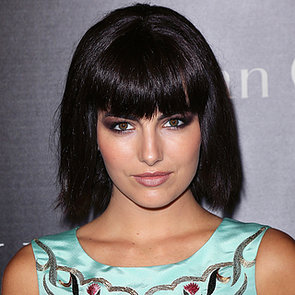 Camilla Belle Blunt Black Bob and Fringe