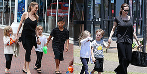 All the Must-See Pictures of Angelina Jolie and Her Kids in Australia