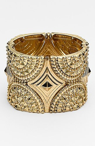 Spring Street Studded Stretch Cuff