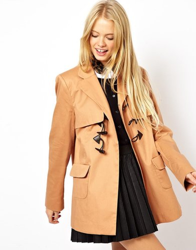 ASOS Swing Duffle Coat