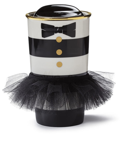 Alice + Olivia Starbucks Collaboration Striped Cup With Tutu