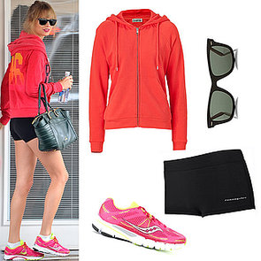 Get the Look: Taylor Swifts's Workout Style