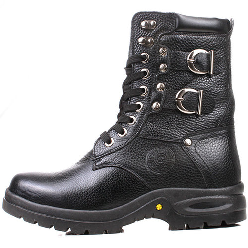 Black men high quality boots that make you taller 8cm / 3.15inch