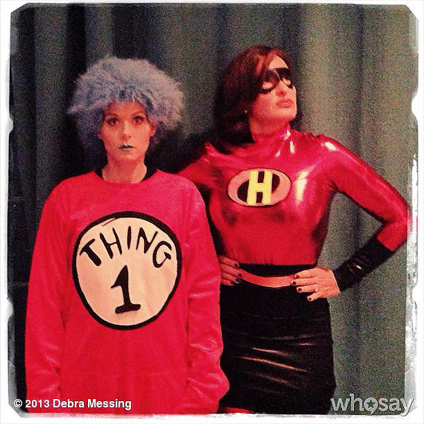Thing 1 and Elastigirl