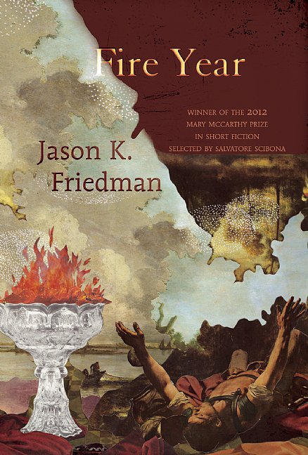 "Fire Year Fire Year is a collection of short stories by Jason K. Friedman that explore ""art, sexuality, love, and religion"" in Georgia and the Deep South. There's bar mitzvah-set coming-of-age tale, a story of a gay man's unexpected connection at his high school reunion, and more stories about the Jewish experience the American South. Out Nov. 5"