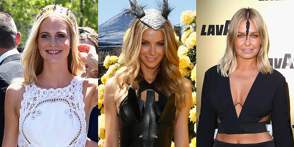 Blonde Beauties Lara, Poppy and Jen Lead the Way at Derby Day