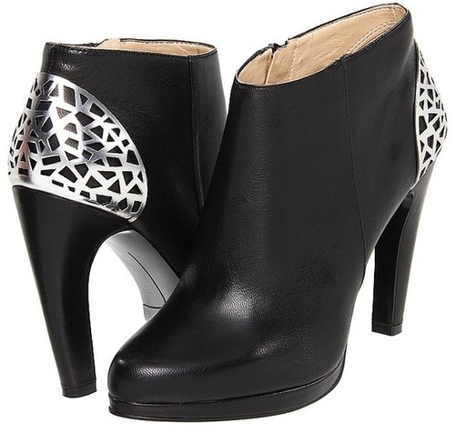 Nine West - Balbina (Black Leather) - Footwear