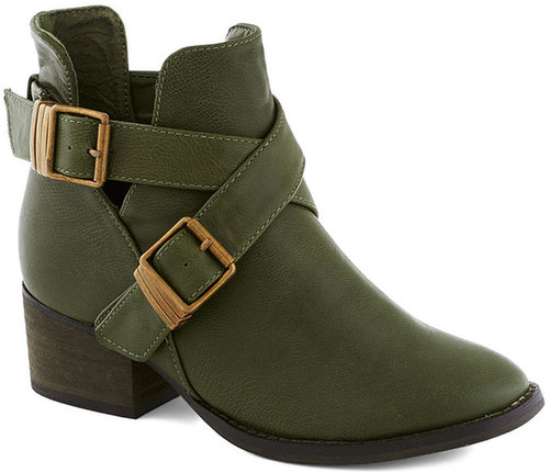 Avocado Acclaim Bootie