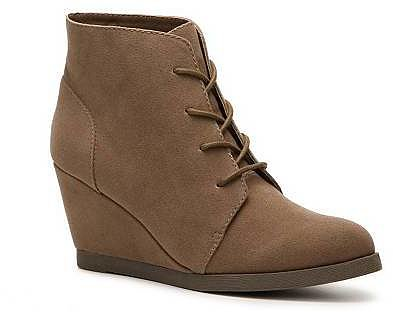 Madden Girl Domain Wedge Bootie