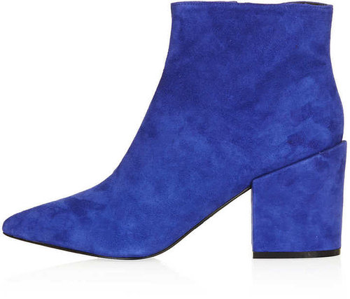 ABA Pointed Ankle Boots