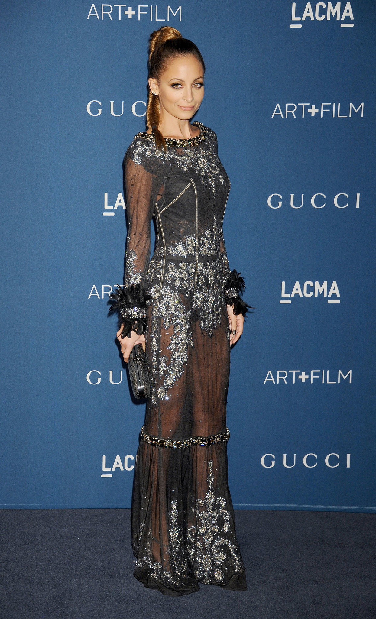 Nicole Richie was sheer perfection in Dolce & Gabbana's embellished gown at the LACMA 2013 Art + Film Gala.