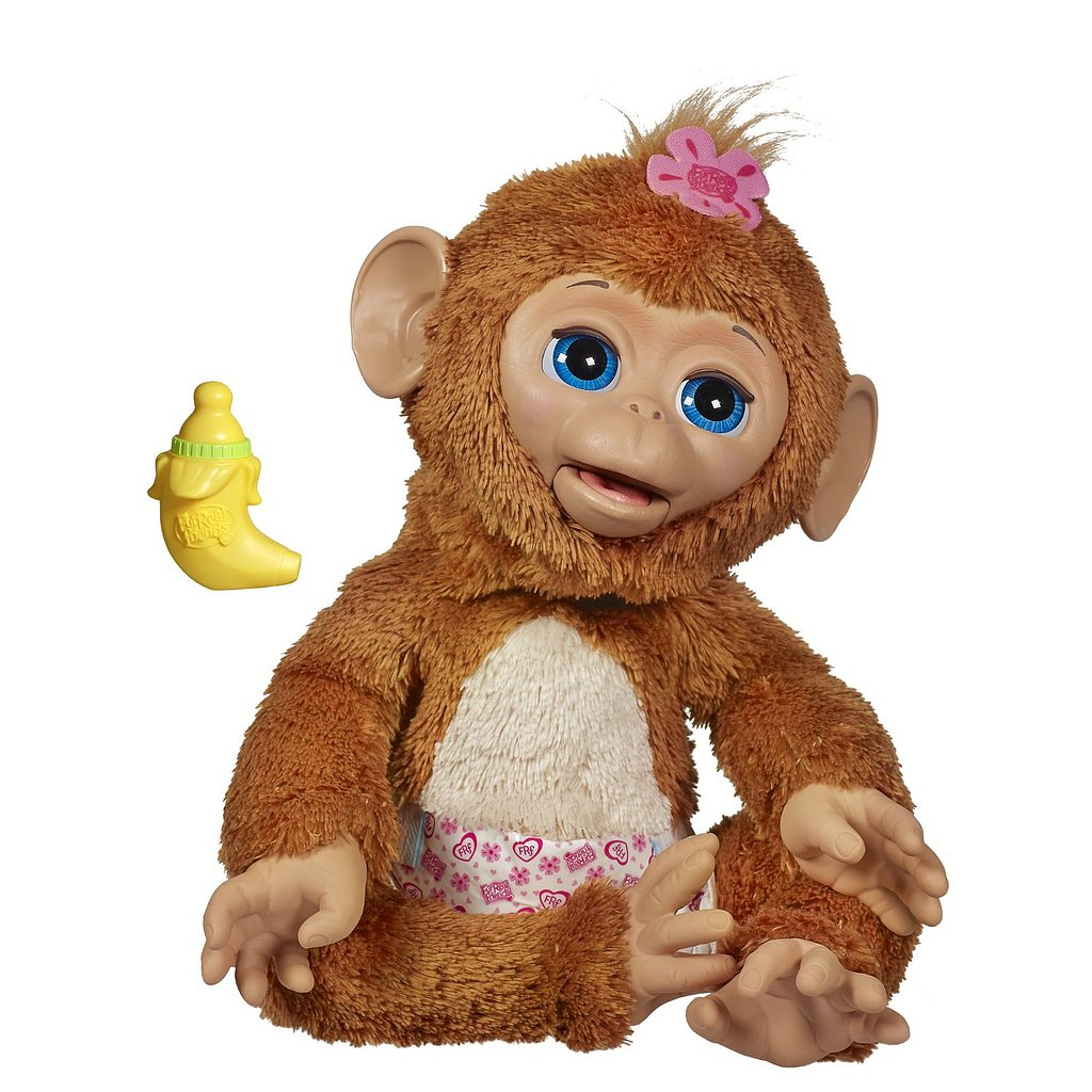For 3-Year-Olds: FurReal Friends Cuddles My Giggly Monkey Pet