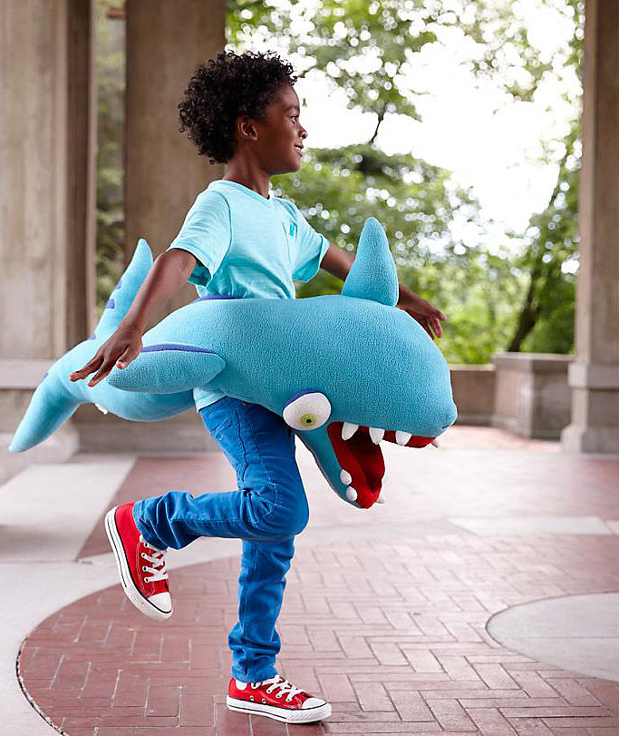 For 3-Year-Olds: Into the Wild Wearable Animals Shark