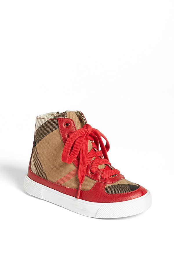 Burberry Merrison High-Top Sneakers