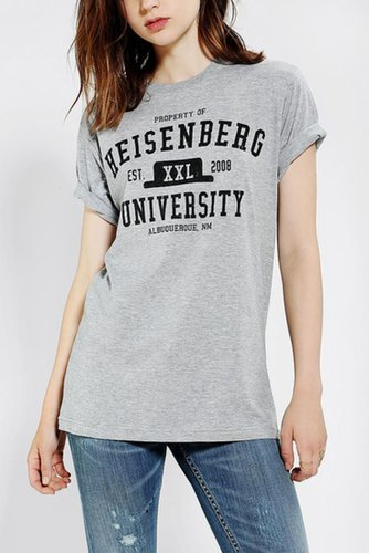 Breaking Bad Heisenberg University Tee ($29)