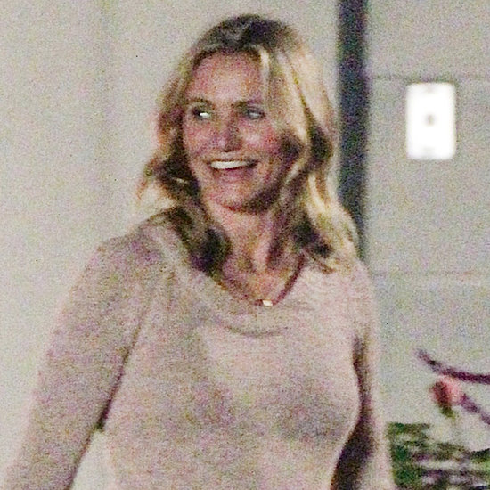 Cameron Diaz With Jason Segel on the Set of Sex Tape