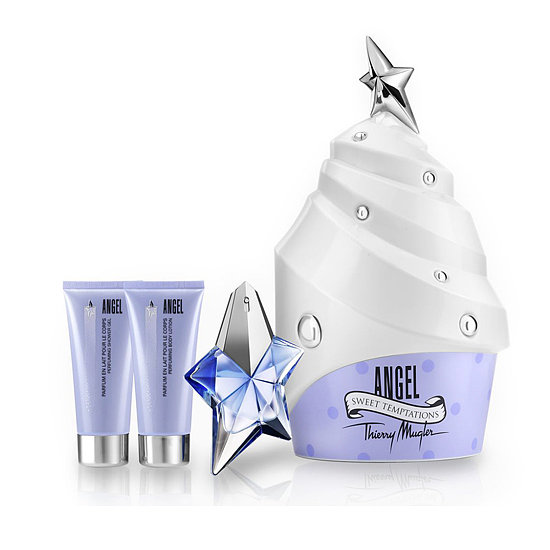 The fragrance, body lotion, and shower gel are the icing on top of this Thierry Mugler Angel Cupcake Gift Set ($134).