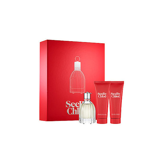 The younger girls on your list will love to open up the See by Chloé Gift Set ($105). The scent is a mix of jasmine, ylang ylang, and musk that creates a feminine scent that's not too overpowering.