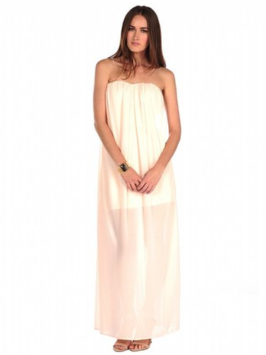 Ark & Co. Strapless Grecian Dress