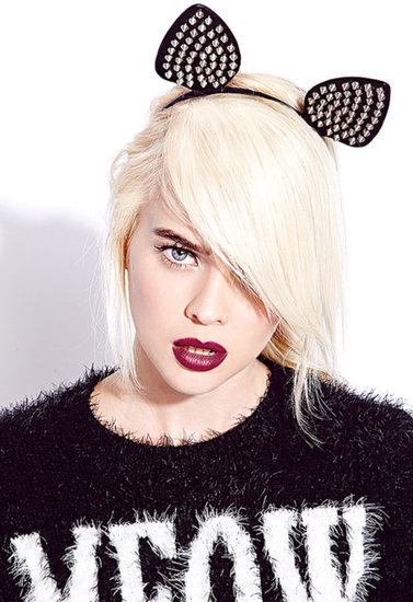 FOREVER 21 Spiked Cat Ears Headband
