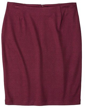 Merona® Women's Ponte Pencil Skirt - Assorted Colors