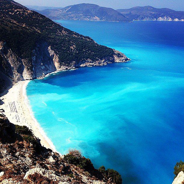Myrtos Beach, Kefalonia  15 Must-See Sights in Greece and ...
