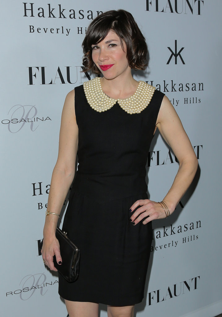 Actress Carrie Brownstein stepped out for the event.