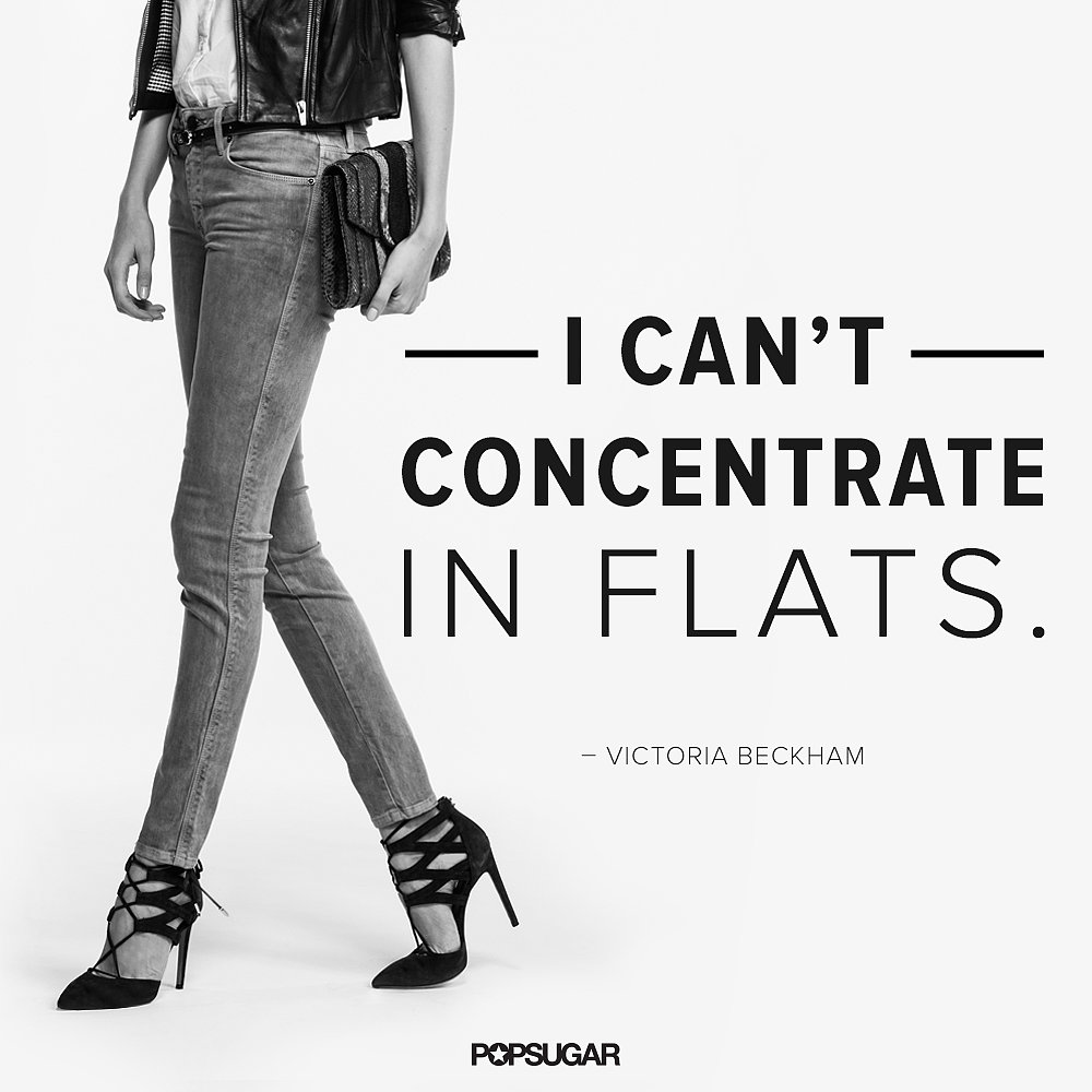 Heels take us to a higher power, too.