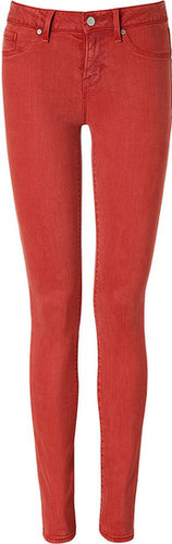 Marc by Marc Jacobs Antique Red Skinny Jeans