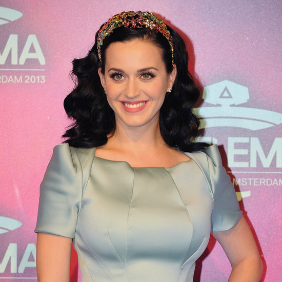 Katy Perry Hits The MTV EMAs in Mint Green