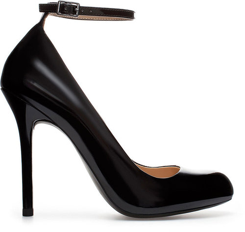 High Heel Mary Jane Court Shoe