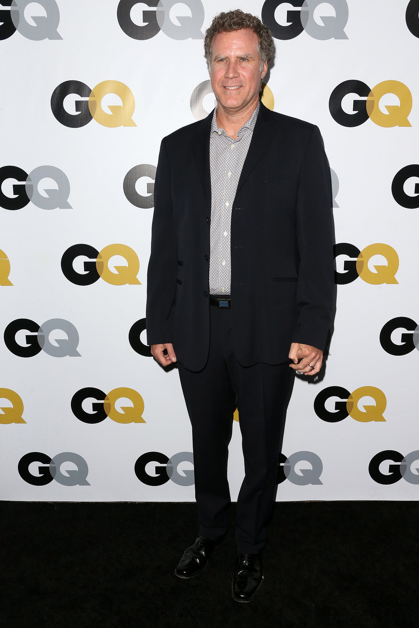 Will Ferrell arrived for the GQ Men of the Year party.