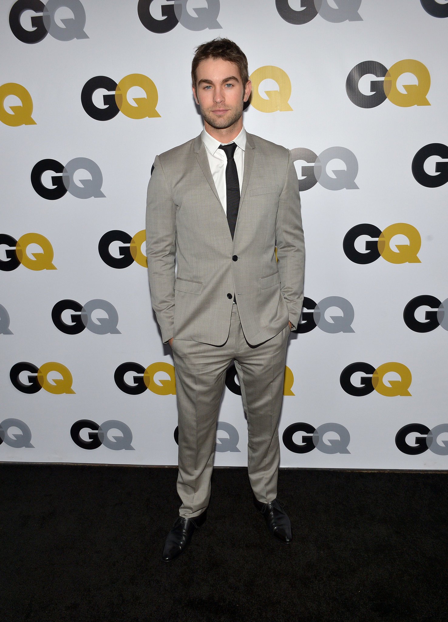 Chace Crawford attended the GQ Men of the Year party.