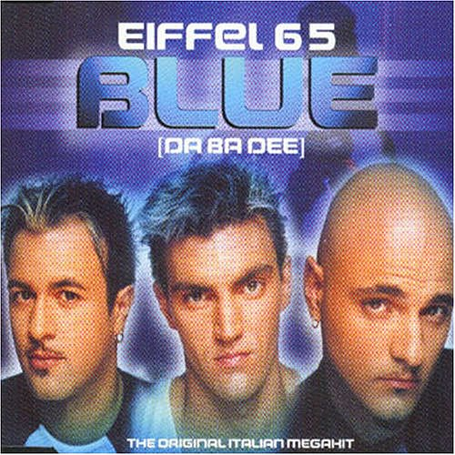 Blue by Eiffel 65 I'm super embarrassed to admit this, but mine was Eiffel 65's Blue. I remember my dad threatened not to take me to buy it if I didn't clean my room. I think that was the quickest I ever tidied up. — Leah Rocketto, assistant moms editor