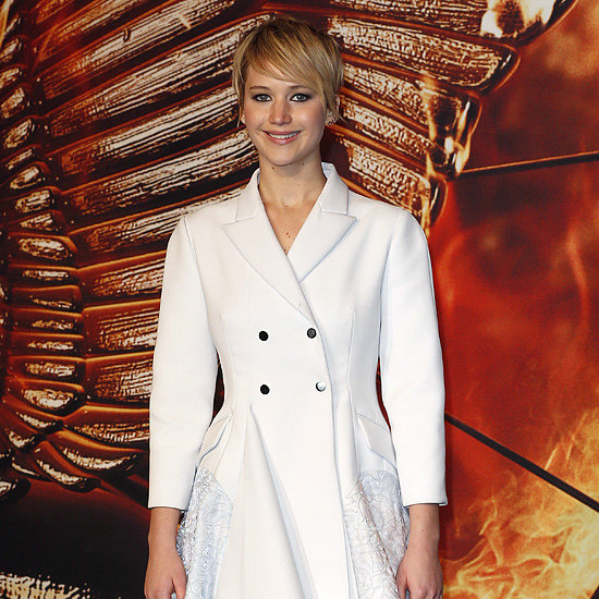Jennifer Lawrence's Catching Fire London Premiere Dress