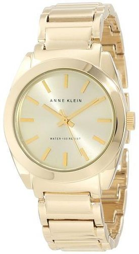 Anne Klein Women's Gold Plastic Watch