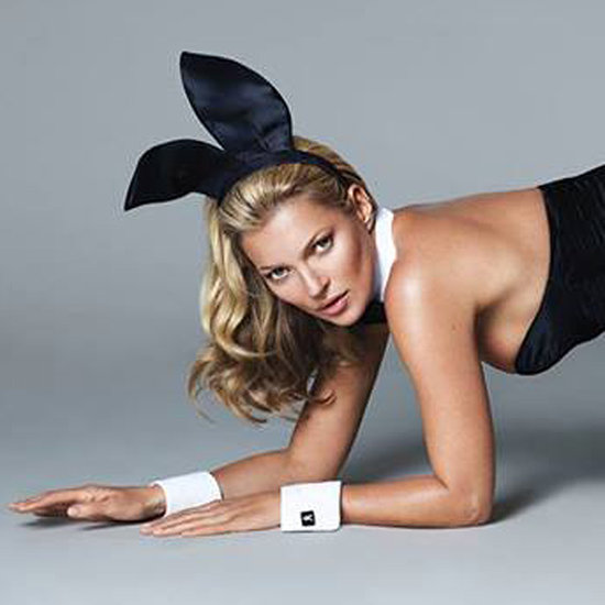 First Picture of Kate Moss In Playboy 60th Anniversary Issue
