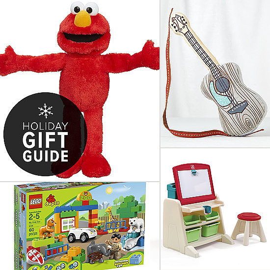 Who says the terrible twos are really that bad? Certainly not your little angel! POPSUGAR Moms has perfect holiday gifts that will keep your tot so busy, he won't have time to get into trouble!