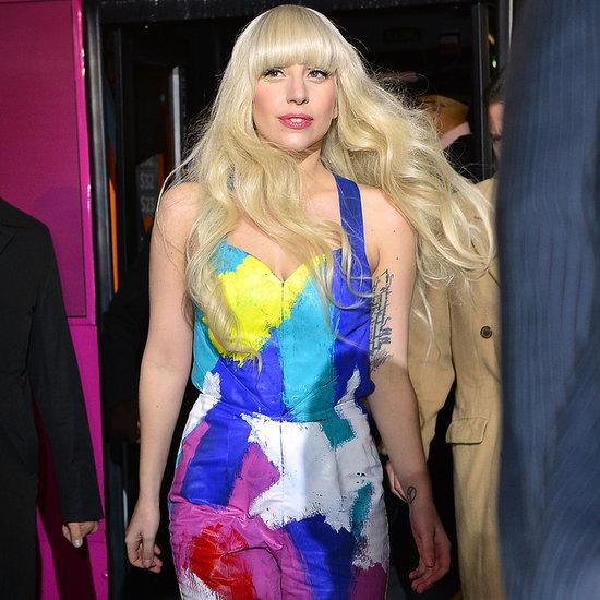 Lady Gaga Shops at H&M