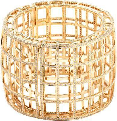 Maiyet Diamond Cage Bracelet