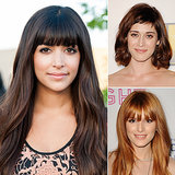 Celebrity Fringe Hairstyles For Spring 2014