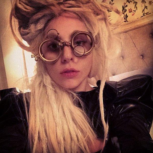 We see you, Lady Gaga! Source: Instagram user ladygaga