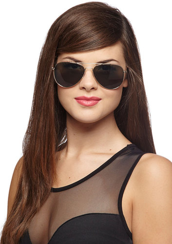 Get an A for Aviator Sunglasses