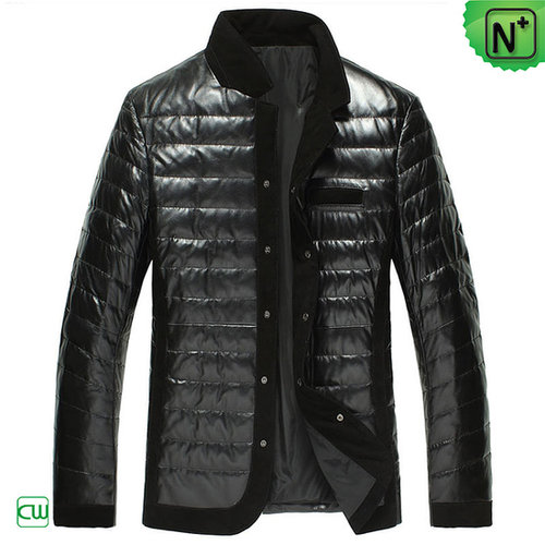 Down Filled Leather Jackets CW848332