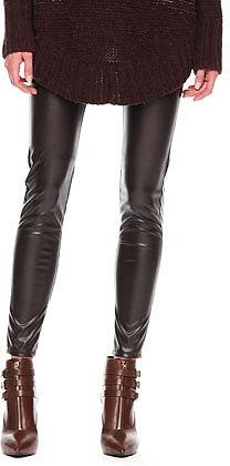 MICHAEL Michael Kors  Faux-Leather Leggings