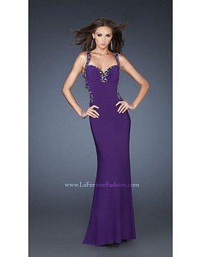 La Femme Gigi Prom Dresses 18791 Majestic Purple