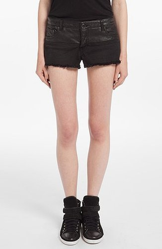 maje 'Dadmis' Moto Shorts